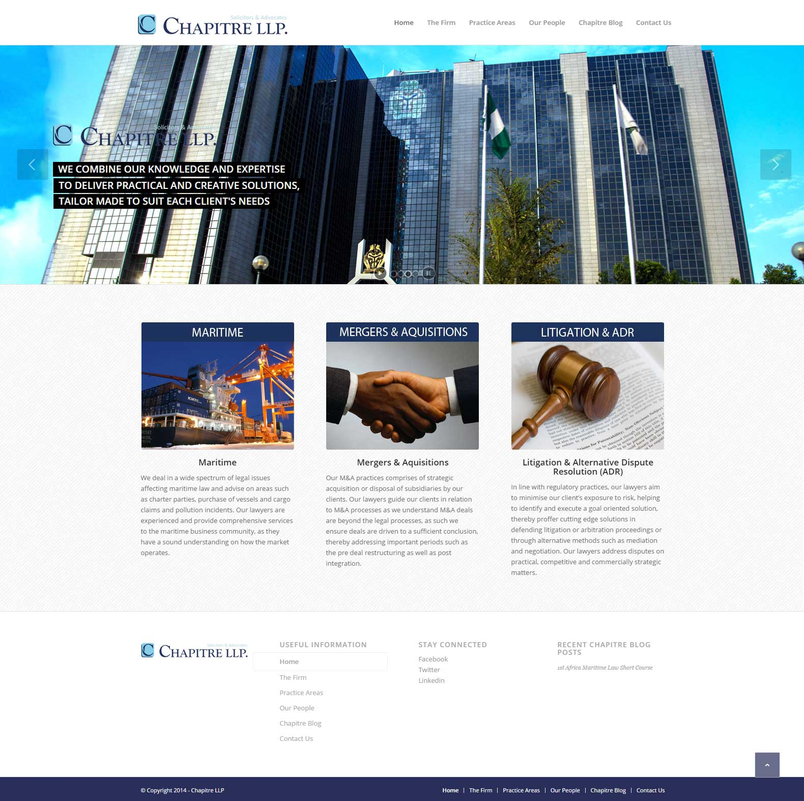 Chapitre Website by Fineries